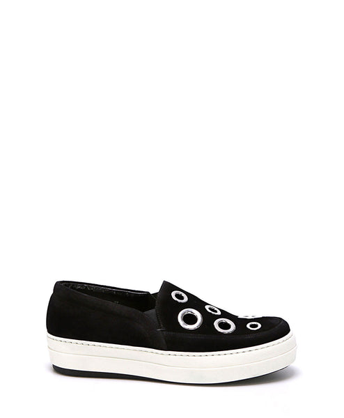 Daze Eyelet Slip On Sneaker by Alexander McQueen