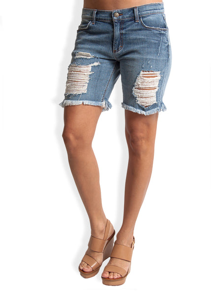 Kate Roll-Up Shorts by SIWY