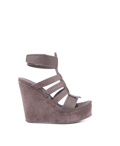 Taylin Caged Wedge Sandal