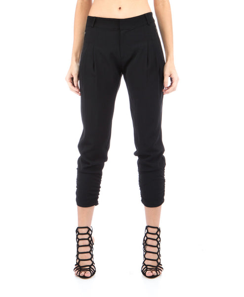 Lindy Ruched Skinny Pant