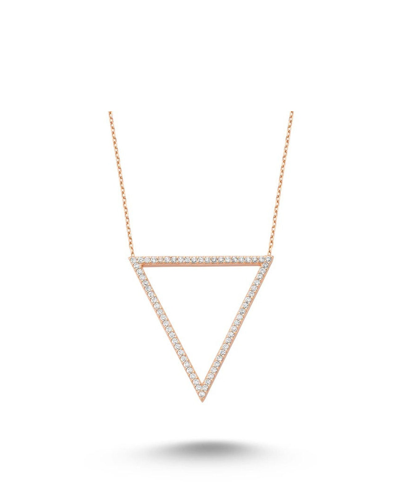 ROSE GOLD PLATED NECKLACE - Koko & Palenki