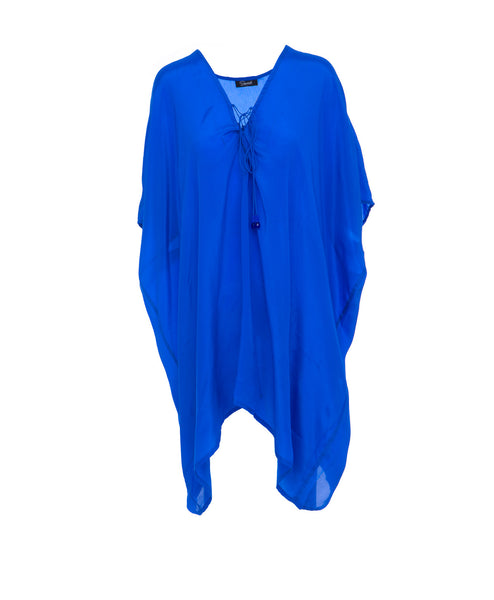 502M-Royal Blue Kaftan