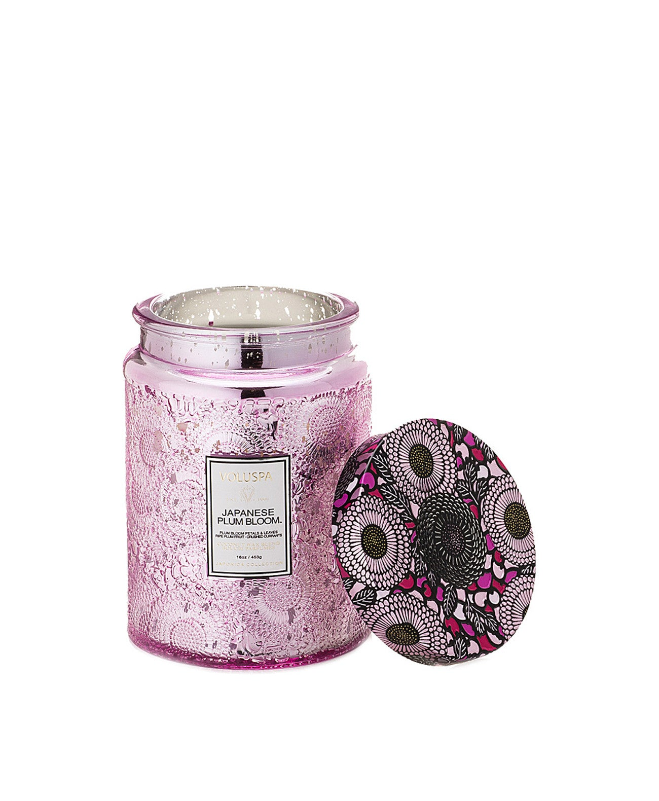72312_Plum Japonica Collection Large Jar