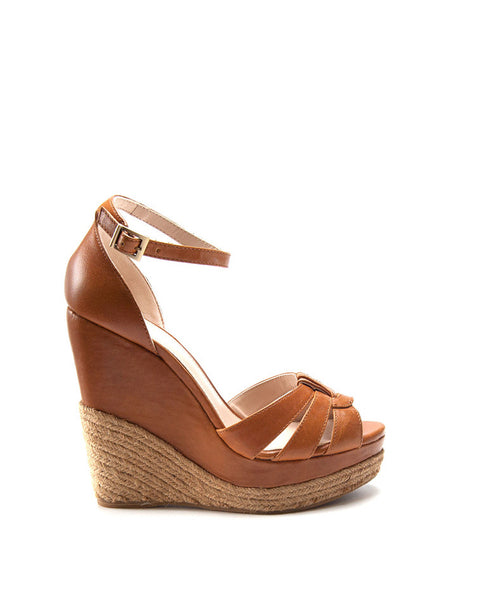 45108 Olida Strappy Leather Wedge