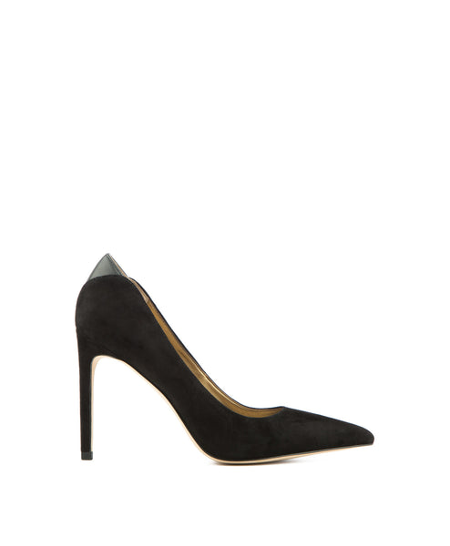 Dea Suede Pump in Black
