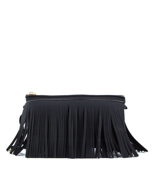 Hippy Fringe Clutch