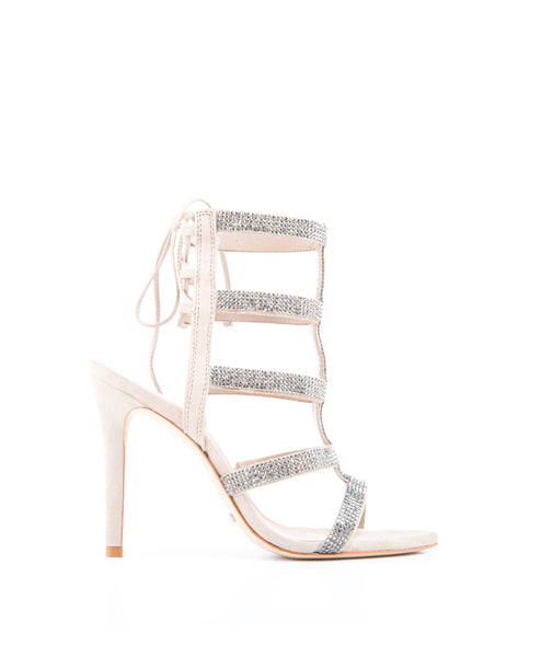 Emma Embellished High Heel Sandal