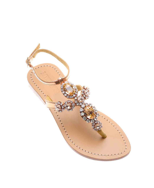 Andaman Islands Sandal - Rose Gold