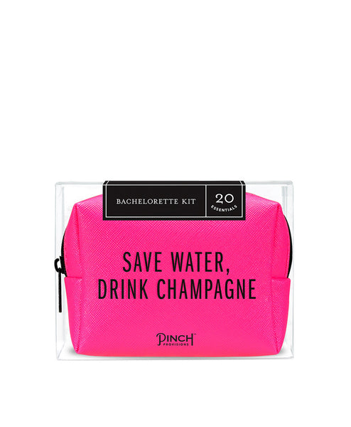 Bachelorette Party Emergency Kit Neon Pink