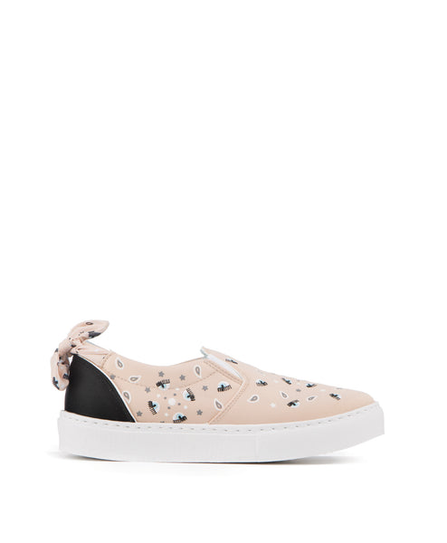 Bandana_slipon_1277 Bandana print slip on sneaker