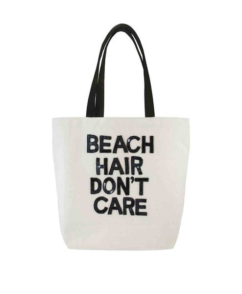 Beach Hair Don't Care Canvas Tote