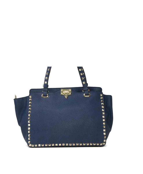 Callie Large Studded Shoulder Bag