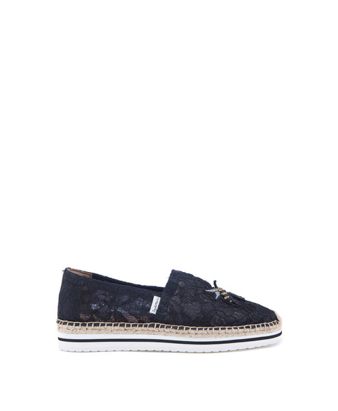 Central Lace espadrille