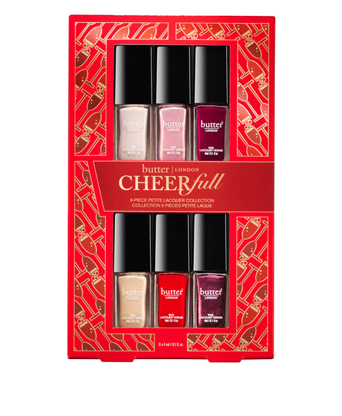 Cheerfull 6 petite piece Polish Set