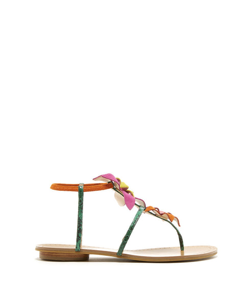 Ellis green sandal