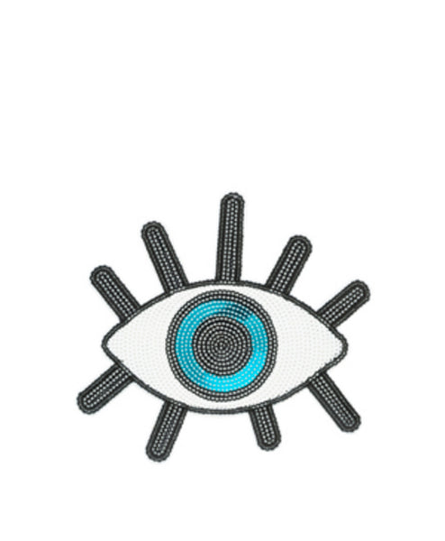 Sequin Evil Eye Sticker Patch