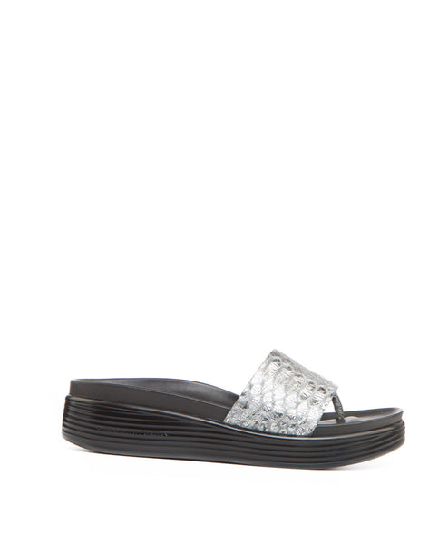 FIFI17 TEXTURED LEATHER SANDAL