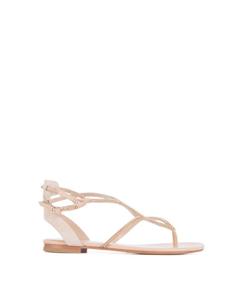Mary Jeweled Ankle Sandal