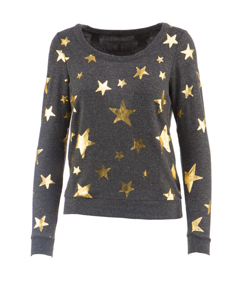 Gold Stars Pullover