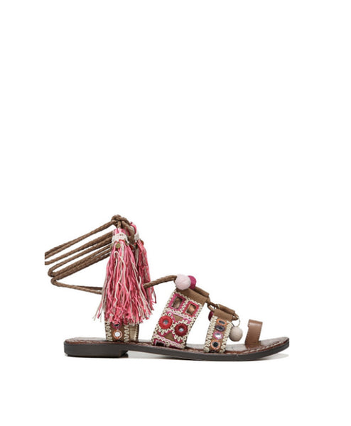 Gretchen Tie Up Sandal