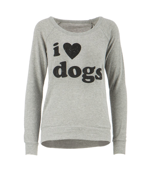 I Love Dogs Pullover Sweater