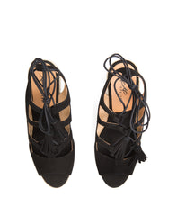 Jena Lace Up Espadrille Wedge - Koko & Palenki - 12