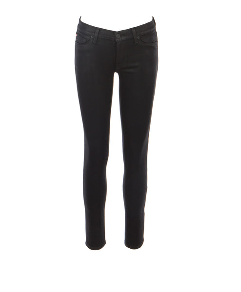 Krista Noir Coated Skinny