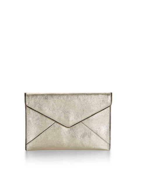 Leo_crackle_gold Rebecca Minkoff Leo Clutch