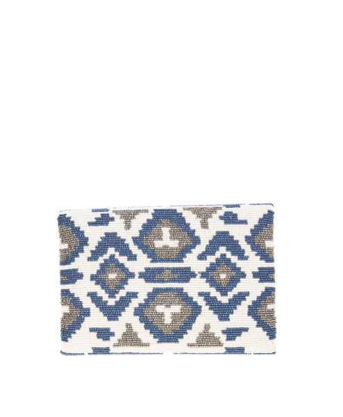Fold-Over Beaded Navajo Clutch