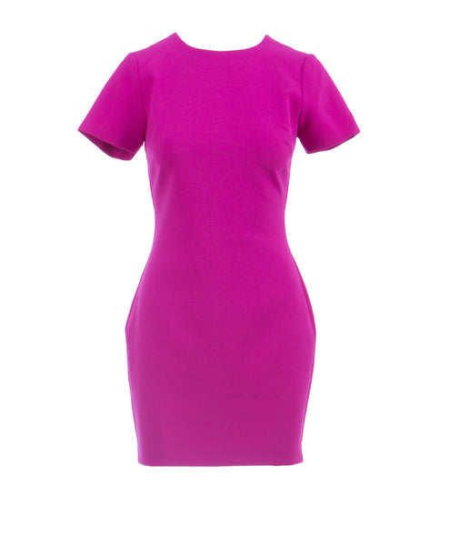 ManhattanDress Short Sleeve Orchid Pink Dress