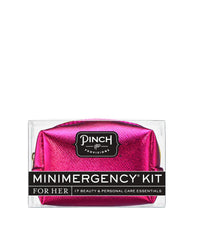 MetallicHotPink Minimergency Kit Metallic Hot PINK