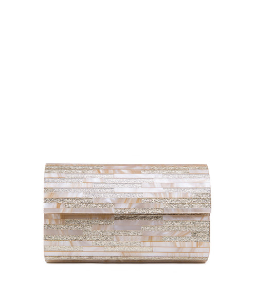 Modern_resin_gold Sondra Roberts clutch