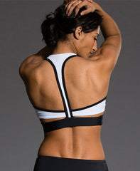 Wrap Bra - Black & White - Koko & Palenki - 2