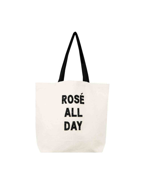 Rose All Day Canvas Bag Canvas Tote