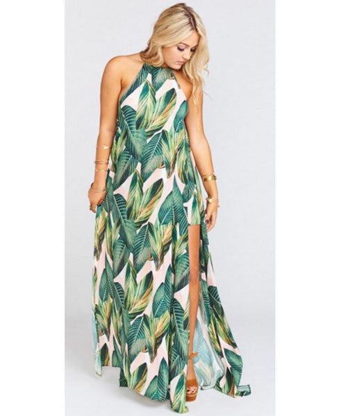 Bronte Maxi Peachy Palm