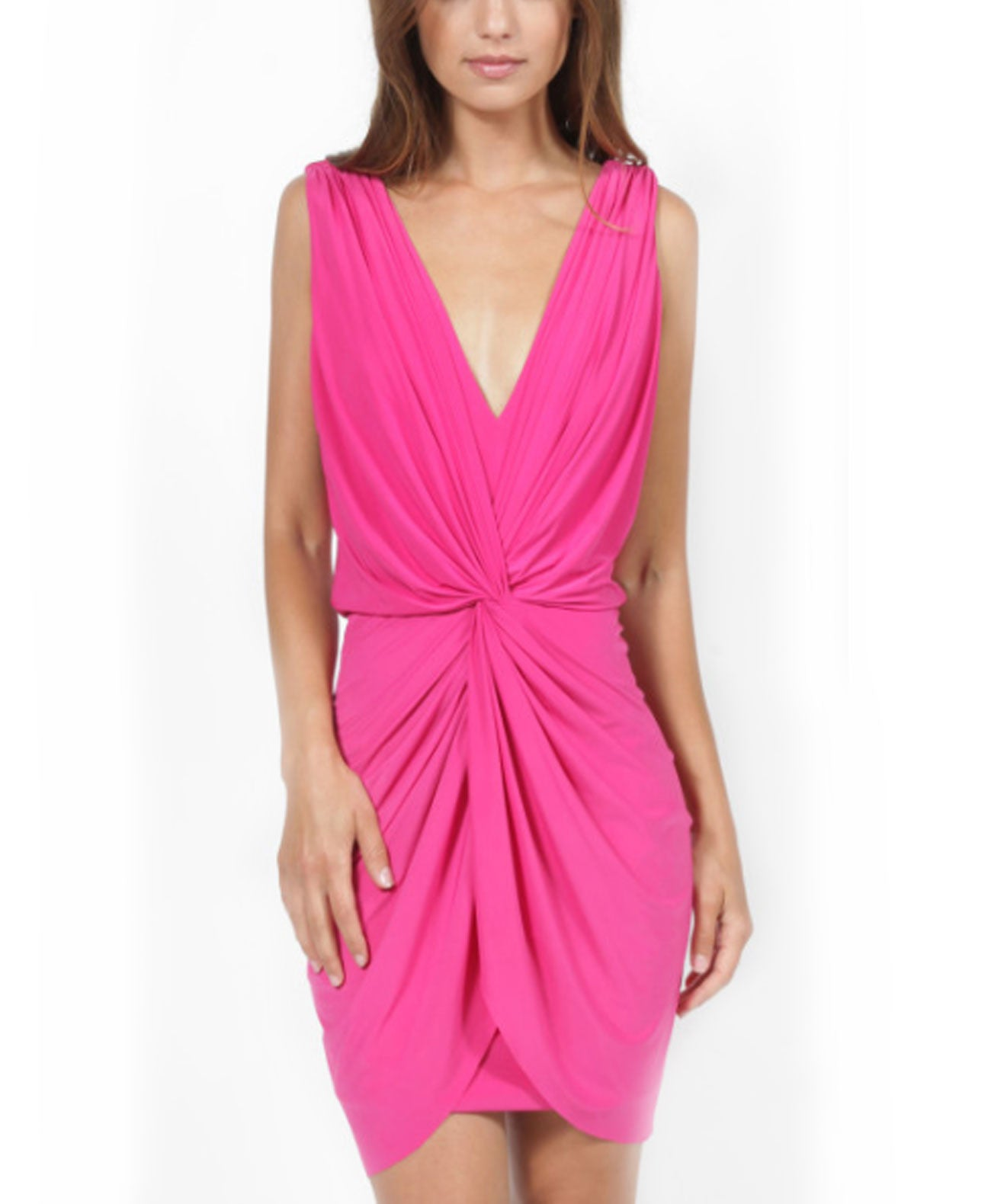 Leza Dress hot pink - Koko & Palenki - 1