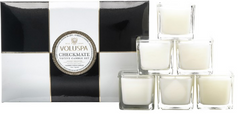 Maison Checkmate 6 Votive Candle Set