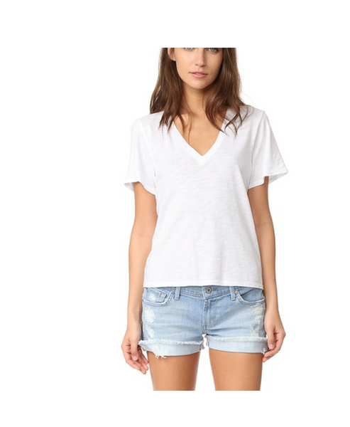 Nicola V Neck T shirt