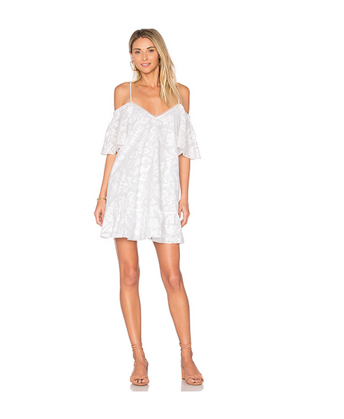Gretchen Off Shoulder Ruffled Dress