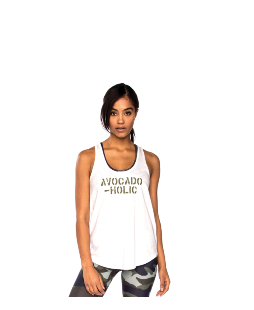 Avocadoholic Tank Top