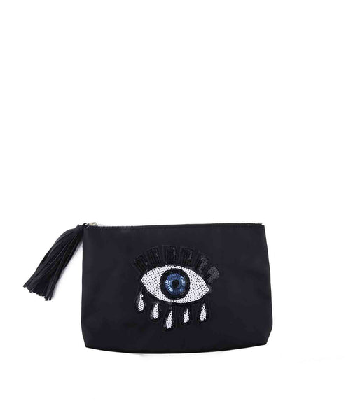SequinEyeClutch-Blk
