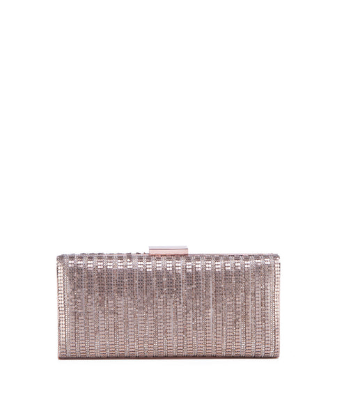 Shine on Metal clutch handbag