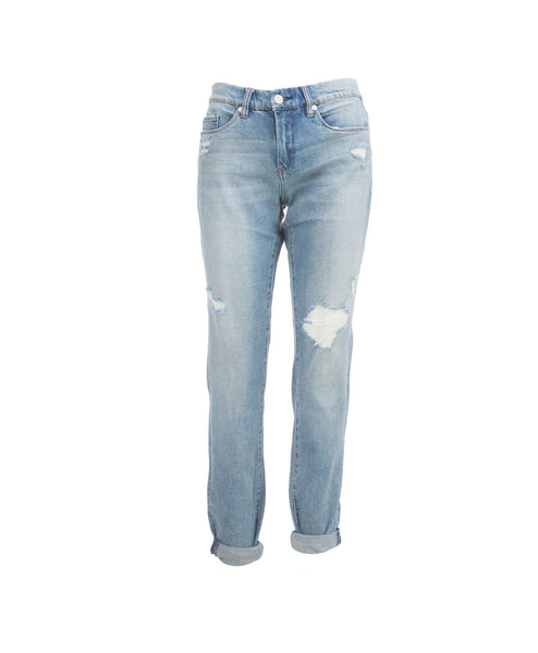 SkinnyDipper Light Denim Boyfriend Jean