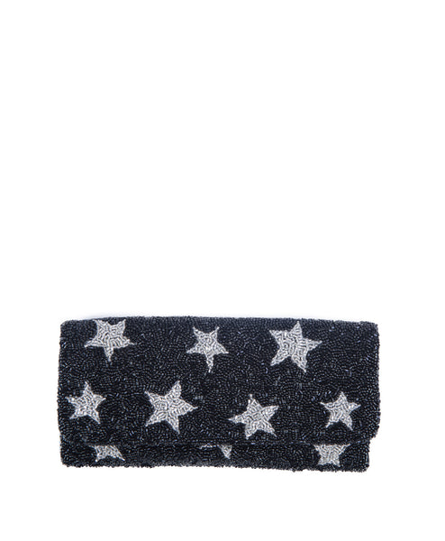 Beaded Stars Clutch  (Koko Exclusive)