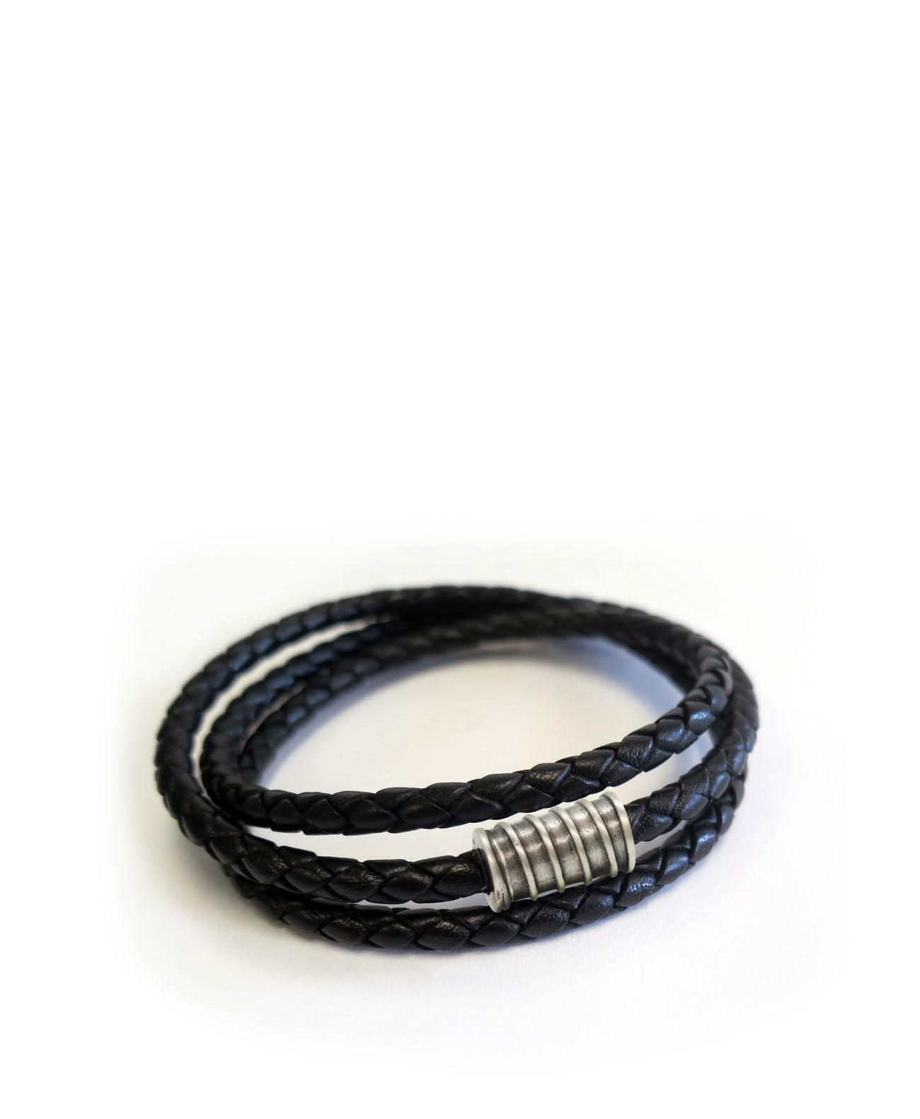 Triple Wrap Screw Men`s Bracelet - Koko & Palenki