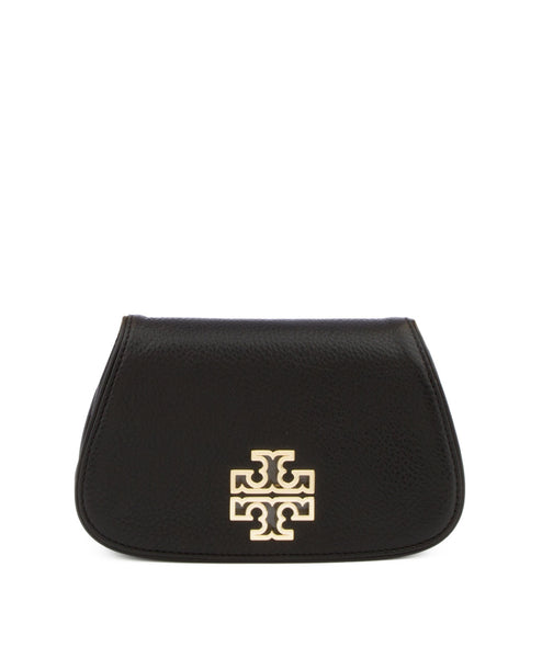 Tory Burch Britten Mini Cross Body in Black