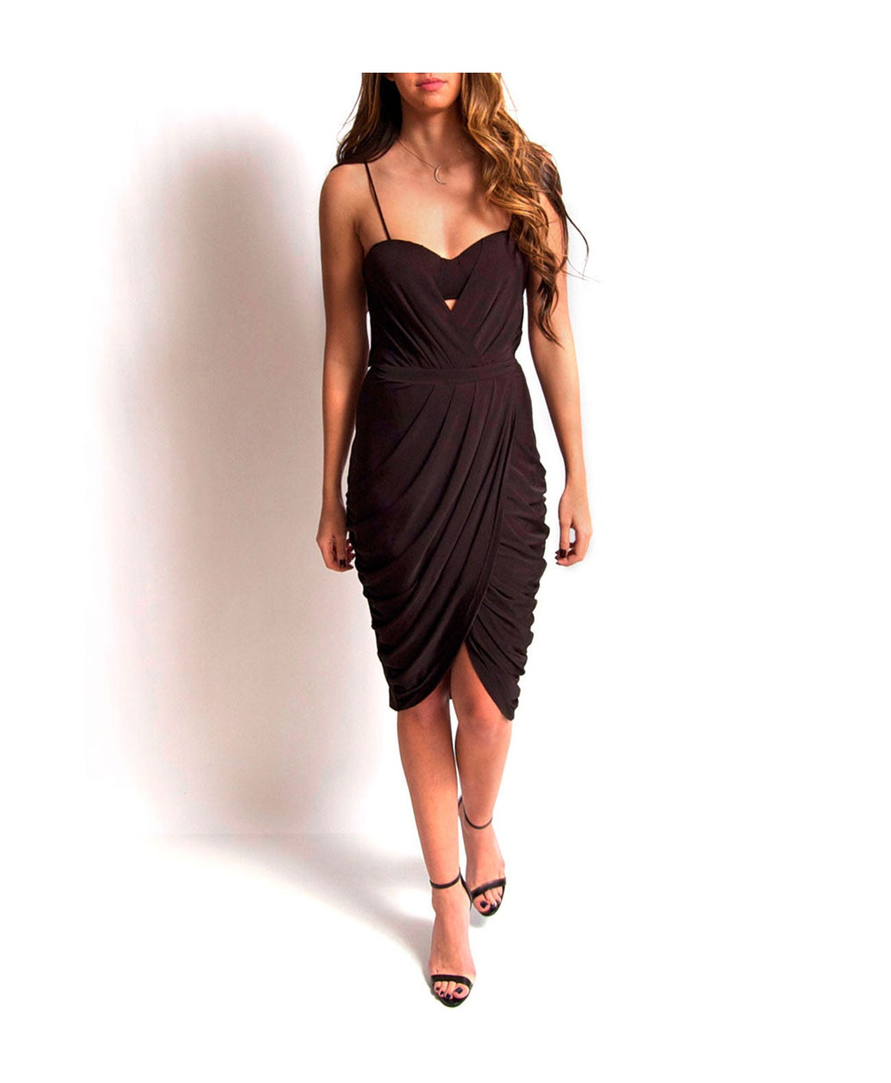 Deep swells dress Blessed Are The Meek Black Mini Dress - Koko & Palenki - 1