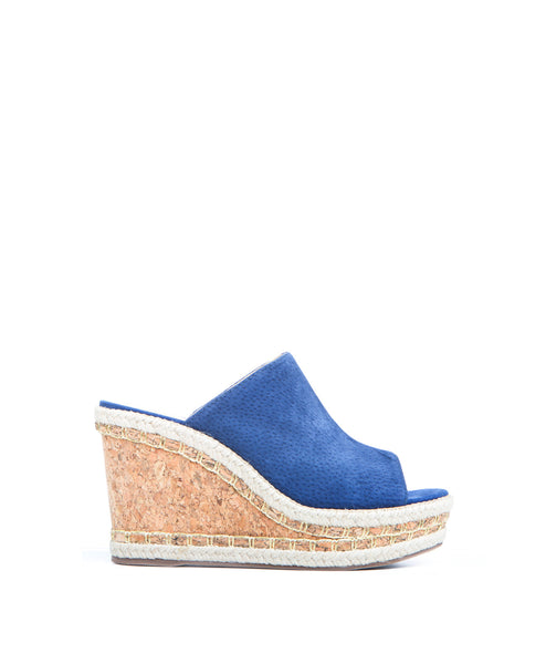 Vinnie Cork Wedge Sandal