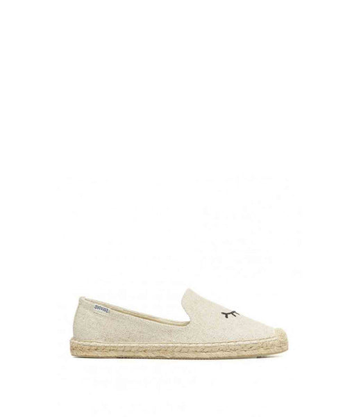 James Polan Embroidered Winking Slipper