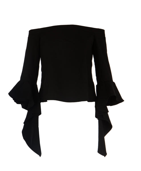 Bold Ruffle Off Shoulder Top